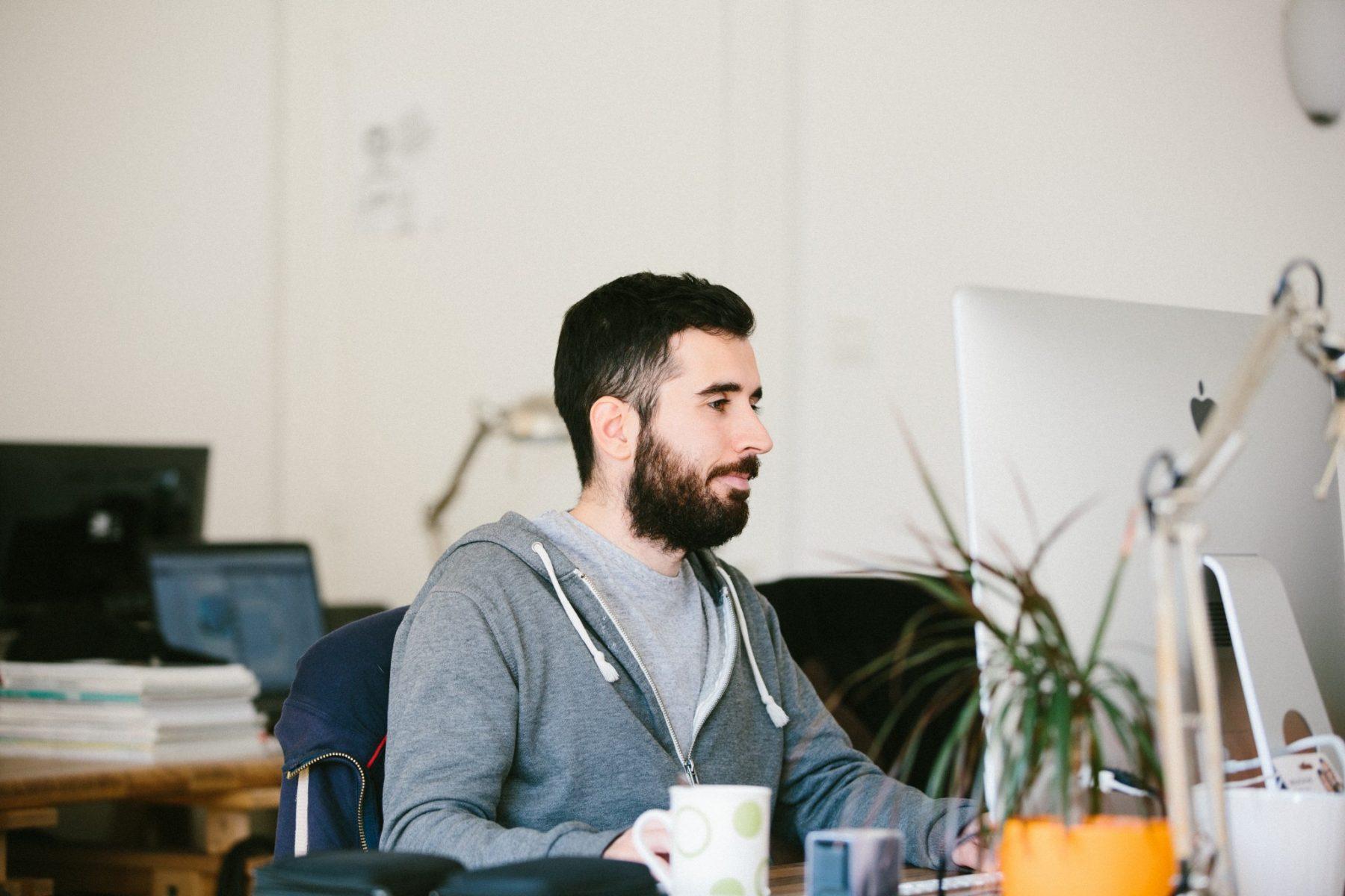 Seegn dans les bureaux de Panorama Coworking