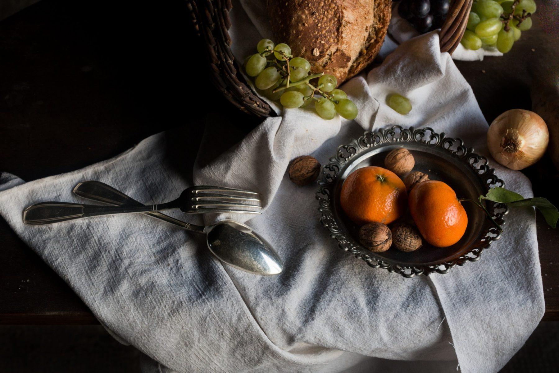 Nature morte mandarines